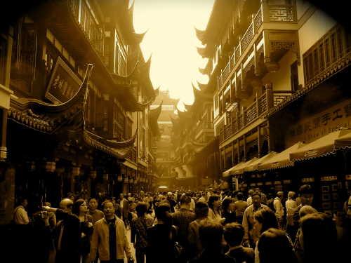 Old town Shanghai - street